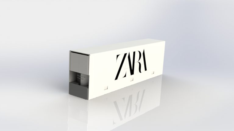 Retail ready packaging Zara