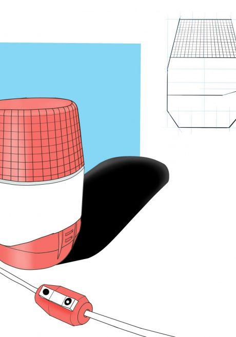 Kleur, materiaal en afwerking concept tekening